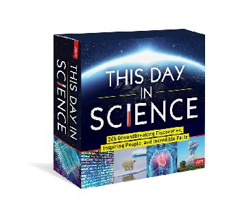 This Day in Science Boxed Calendar 2020
