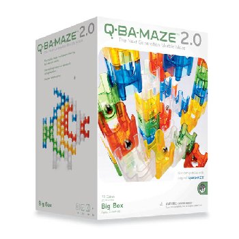 Q-Ba-Maze Big Box 92-pc Set Cool & Hot Colors 2.0