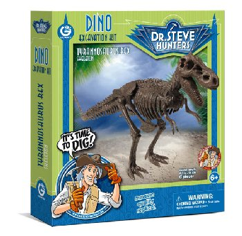 Dino Excavation Kit - Tyrannosaurus Rex Skeleton (13 Pieces)