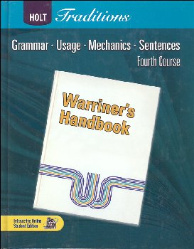 Warriner's Handbook: Fourth Course - Grade 10 Student Text Only (Holt Traditions)