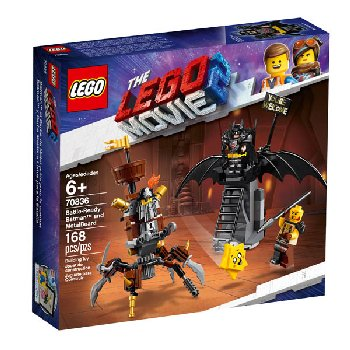 LEGO Movie Battle-Ready Batman and MetalBeard! (70836)