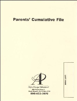 Parent's Cumulative File