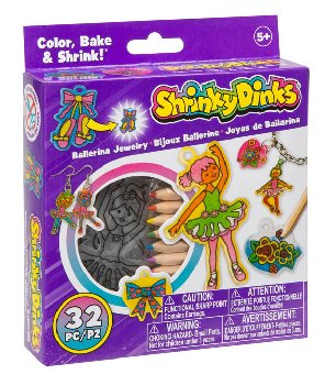 Shrinky Dinks Minis - Ballerina Jewelry