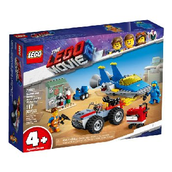 LEGO Movie Emmet and Benny's Build and Fix Workshop (70821)