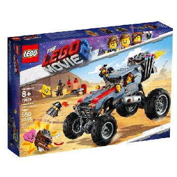 LEGO Movie Emmet and Lucy's Escape Buggy! (70829)