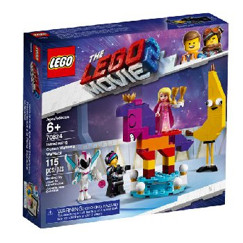 LEGO Movie Introducing Queen Watevra Wa'Nabi (70824)