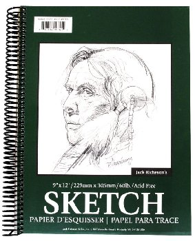 "Sketchpad - 9"" x 12"" Spiral Bound  (100 Sheets)"