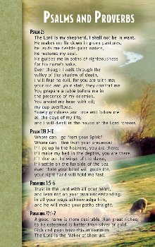 Psalms & Proverbs Mind & Heart Memory Card