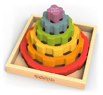 Gear Stacker Puzzle