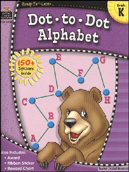 Dot to Dot Alphabet (Ready, Set, Learn)