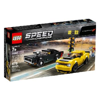 LEGO Speed Champions 2018 Dodge Challenger SRT Demon and 19 (75893)