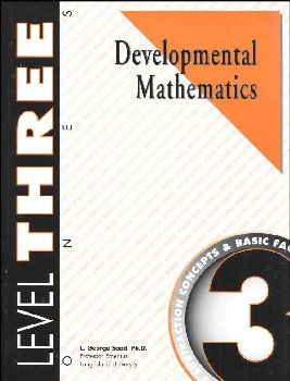 Developmental Math Level 3 Worktext
