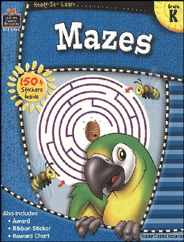 Mazes Gr. K (Ready, Set, Learn)
