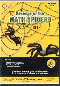 Revenge of the Math Spiders B1