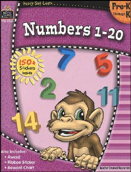 Numbers 1-20 (Ready, Set, Learn)