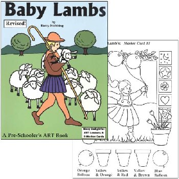 Baby Lambs Art Book