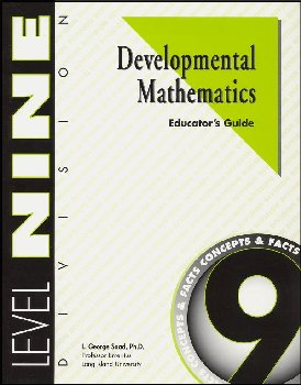 Developmental Math Level 9 Instruction Guide