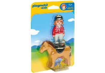 Equestrian with Horse (Playmobil 1-2-3)