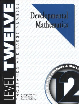 Developmental Math Level 12 Worktext