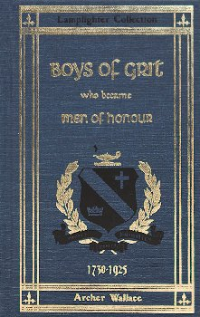 Boys of Grit Who Became Men of Honor