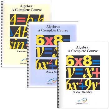 Algebra Desk Reference Set