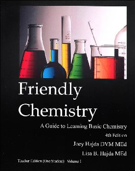 Friendly Chemistry Teacher Edition (One Student) Volume 1