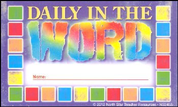 Incentive Punch Cards - Daily in the Word