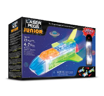 Laser Pegs Construction Bricks 3 in 1 - Zippy Do Space