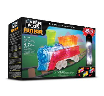 Laser Pegs Construction Bricks 3 in 1 - Zippy Do Trains