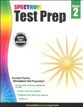 Spectrum Test Preparation 2015 Grade 2