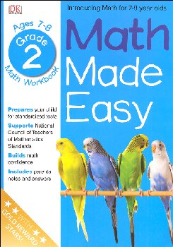 Math Made Easy Workbook Grade 2