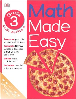 Math Made Easy Workbook Grade 3
