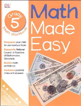 Math Made Easy Workbook Grade 5