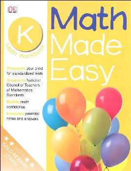 Math Made Easy Workbook Grade K