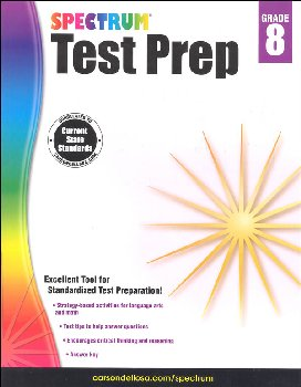 Spectrum Test Preparation 2015 Grade 8