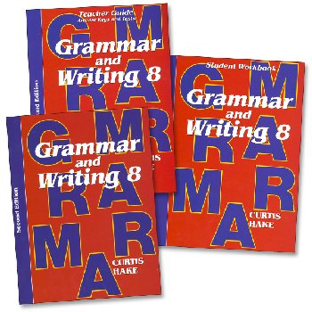 Grammar & Writing 8th Grade Complete Homeschool Kit 2nd Ed.