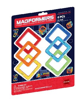 Magformers - Squares Add On 6 Piece Set