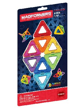 Magformers - Triangles Add On 8 Piece Set