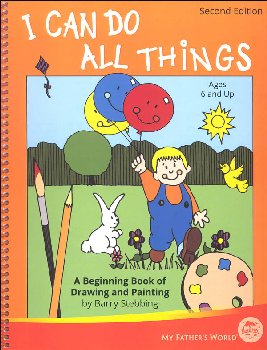 I Can Do All Things 2nd Edition Book with Paint and Marker Cards