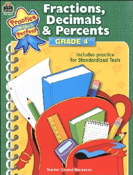 Fractions, Decimals & Percents Grade 4 (PMP)