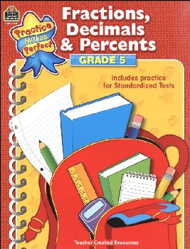 Fractions, Decimals & Percents Grade 5 (PMP)