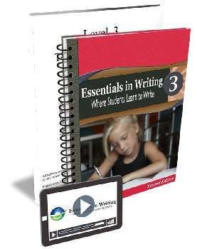 Essentials in Writing Level 3 Bundle (Textbook and Online Video Subscription)