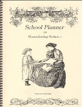 Schooling Planner for Homeschooling Mothers - Ivory