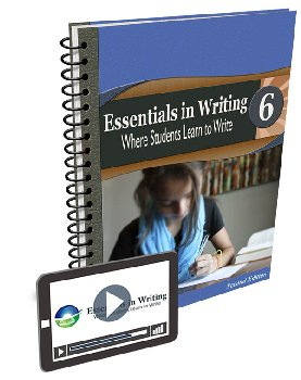 Essentials in Writing Level 6 Bundle (Textbook / Workbook, Teacher Handbook and Online Video Subscription) 2nd Edition