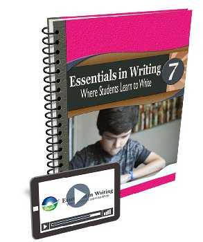 Essentials in Writing Level 7 Bundle (Textbook and Online Video Subscription)