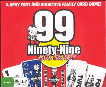 Ninety-Nine or Bust Card Game
