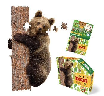 I Am Lil' Bear Puzzle 100 Pieces (Madd Capp Puzzles Jr.)