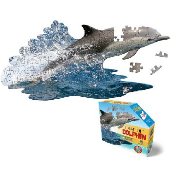 I Am Lil' Dolphin Puzzle 100 Pieces (Madd Capp Puzzles Jr.)