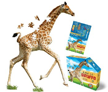 I Am Lil' Giraffe Puzzle 100 Pieces (Madd Capp Puzzles Jr.)