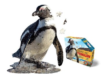 I Am Lil' Penguin Puzzle 100 Pieces (Madd Capp Puzzles Jr.)